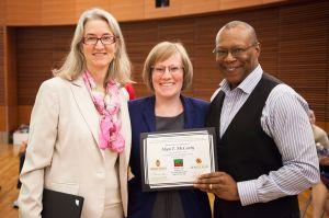 Dr. Alex Adams, Dr. Alyn McCarty and Dr. Stephen B. Thomas at HELI 2015