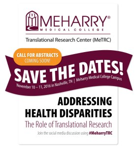 Meharry Health Disparities Nov2016