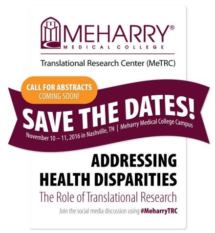 Meharry Health Disparities Nov2016