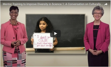 Angela Byars-Winston and Sandra Quinn Mentoring Video on iBiology